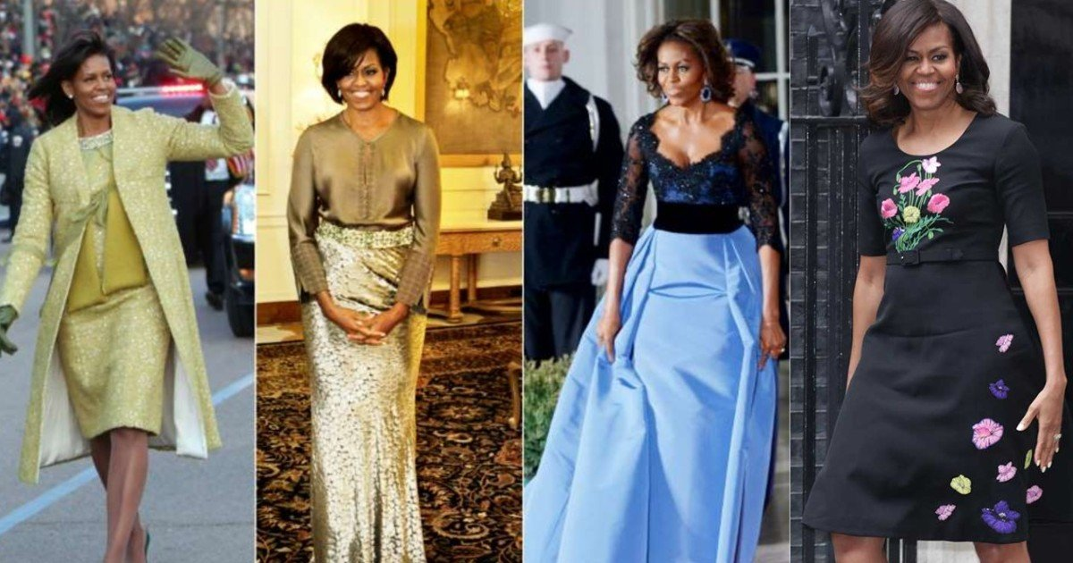 e18486e185aee1848ce185a6 4 2.jpg?resize=1200,630 - Michelle Obama Paid For All Her Outfits From Her Pocket During White House Years