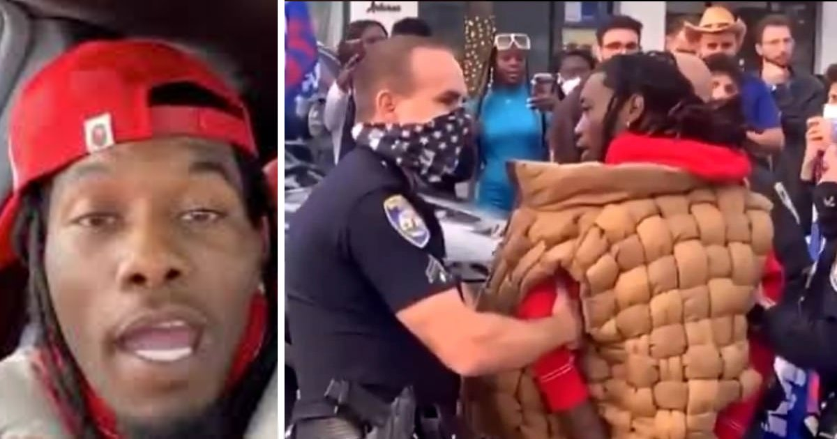 e18486e185aee1848ce185a6 5 1.png?resize=412,232 - Cardi B Screams At Police To Release Her Husband Offset After He Was Detained In Beverly Hills