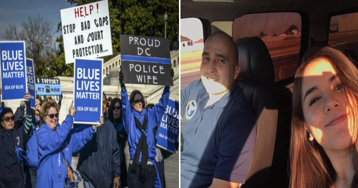 e18486e185aee1848ce185a6 9.jpg?resize=1200,630 - Daughter Criticized For Saying 'Blue Lives Matter' In Tribute To Her Dead Cop Father