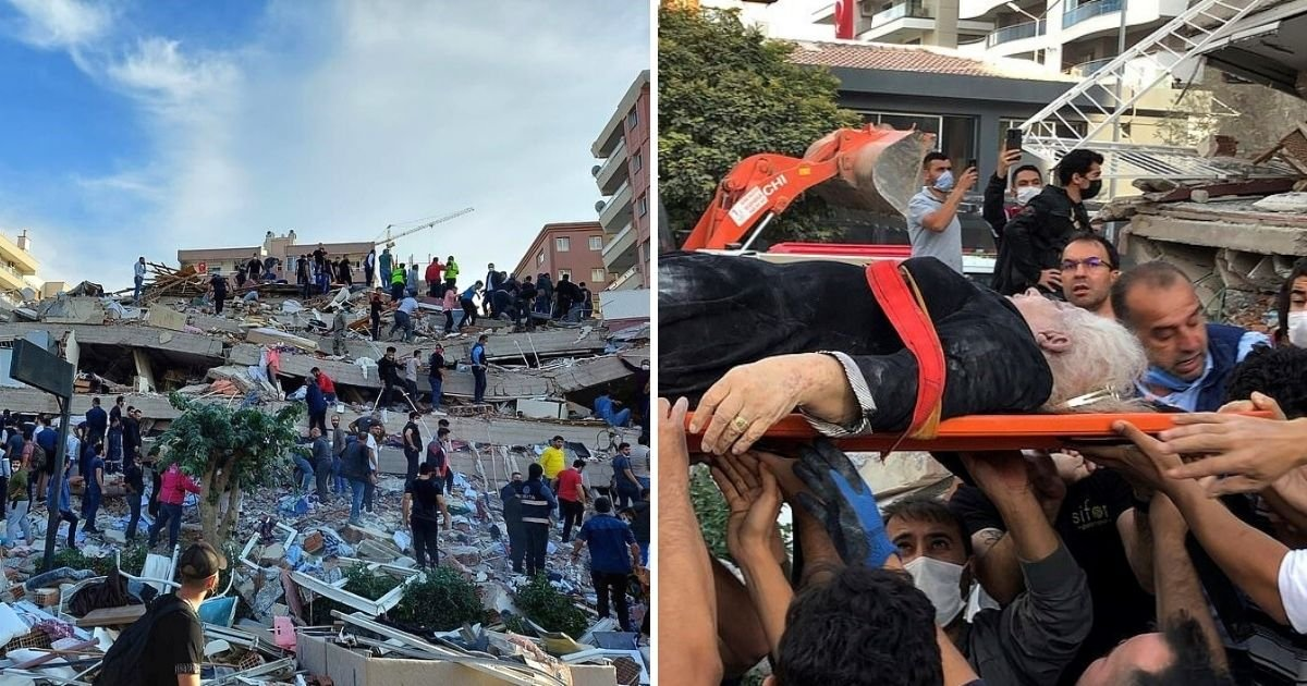 earthquake6.jpg?resize=412,232 - Buildings Collapsed After Powerful 7.0-Magnitude Earthquake, Leaving 22 People Dead And 786 Injured