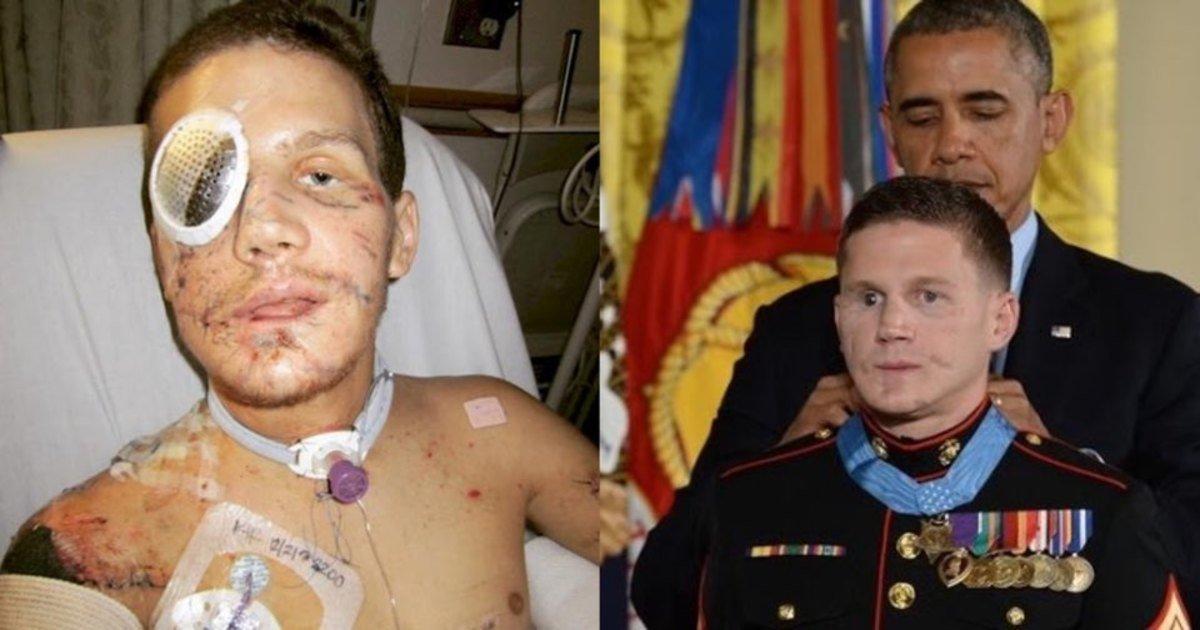 ec9c8ceba6acec9784.jpg?resize=412,232 - 동료들을 위해 초소로 들어온 수류탄을 온 몸으로 막고 살아난 군인에게 미국 정부가 보인 '특급예우'