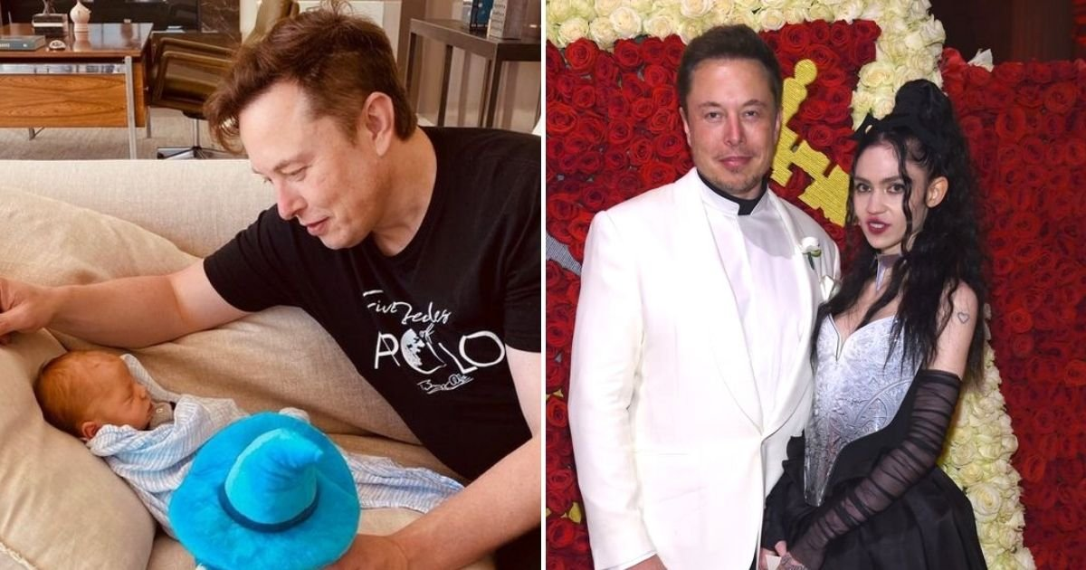 elon5.jpg?resize=412,232 - Elon Musk And Girlfriend Grimes Have Given Baby X Æ A-Xii A New Nickname