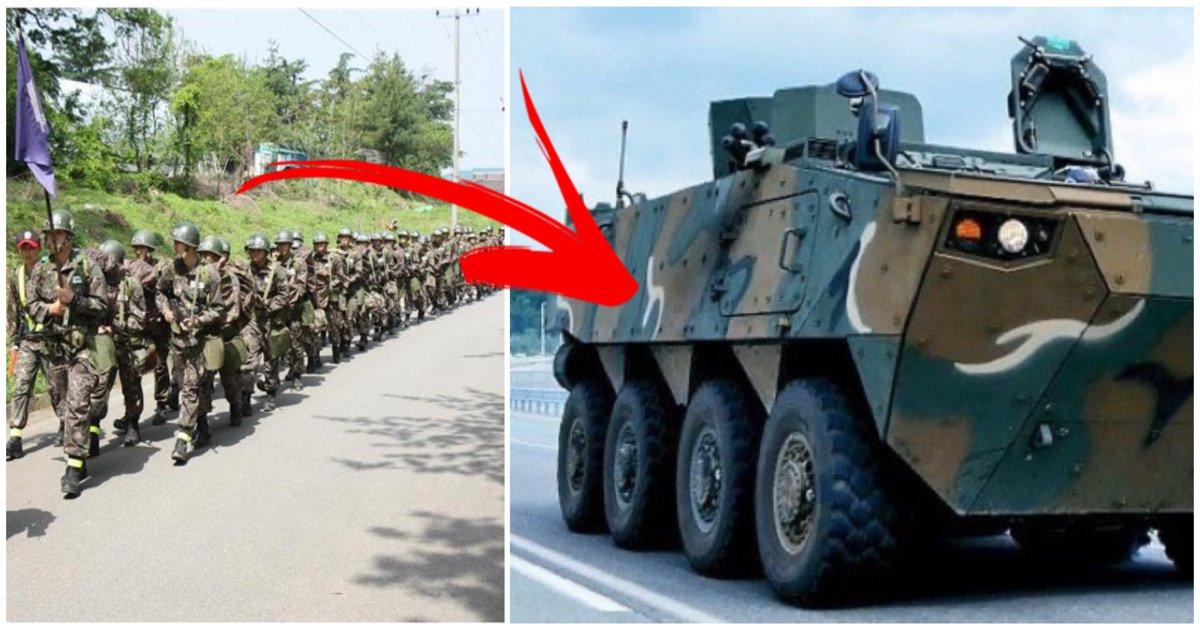 """fc2db6e8 771b 4e3c ab06 77eb2ae56618.jpeg?resize=1200,630 - """"육군 보병 없어진다"""", 이제 행군 안하고 장갑차, 전술차량으로 바꾼다"""