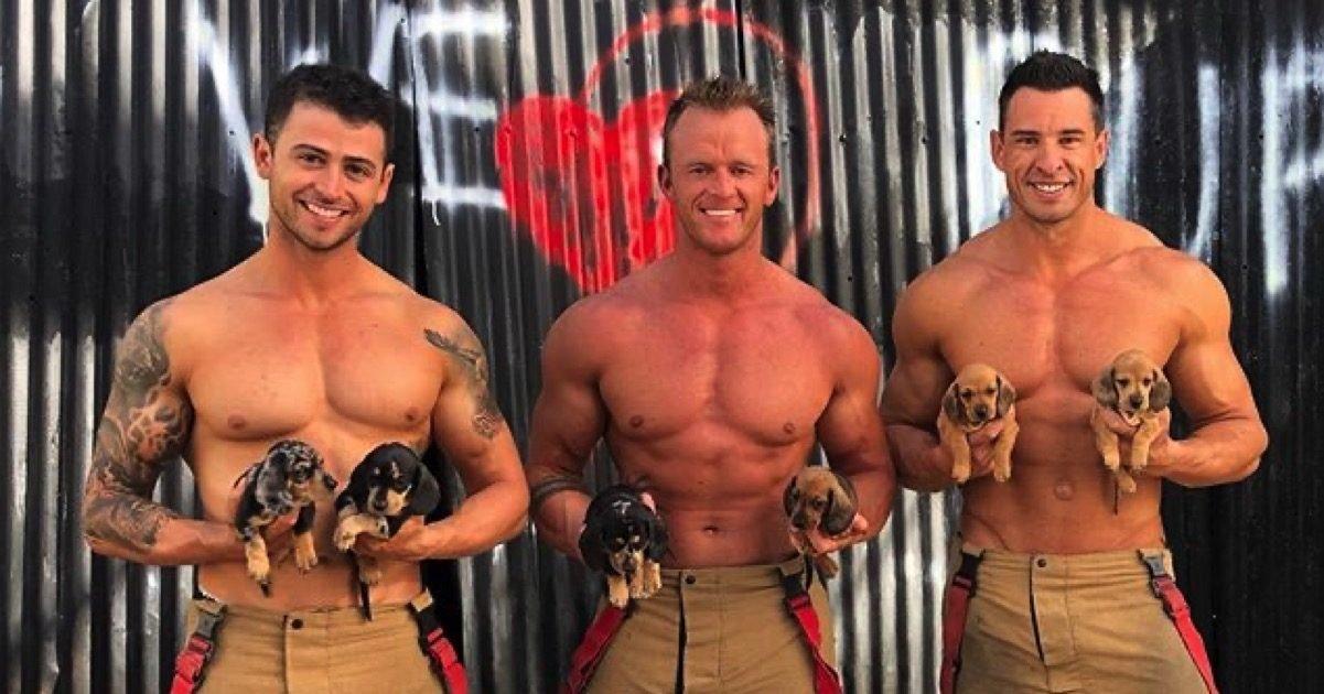 fire fighters calendar 10132020 e1602691901115.jpg?resize=412,232 - Le calendrier des pompiers australiens est de retourpour 2021