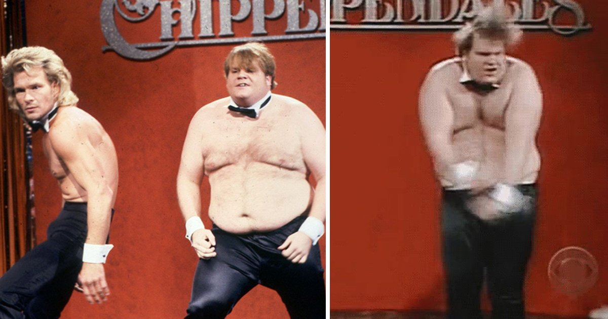 gadfasd.jpg?resize=412,232 - Chris Farley's Chippendales Tales: Here's What Really Went On