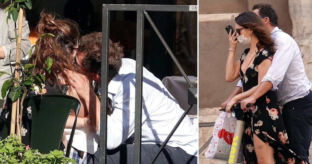 ghjf.jpg?resize=1200,630 - Married Dominic West Gets Caught Passionately Kissing And Cuddling Lily James In Public