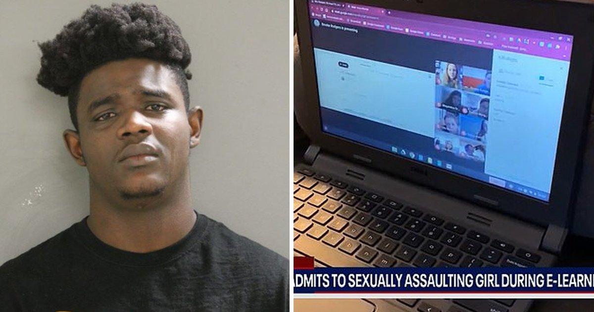 hsdf.jpg?resize=412,232 - Man Caught S**ually Assaulting 7-Year-Old As Abuse Gets Livestreamed In Online Class