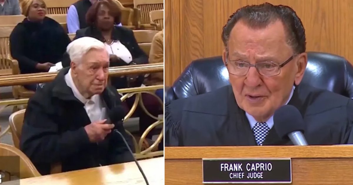hssdfs.jpg?resize=412,232 - Frank Caprio, America's Fav Judge, Dismisses A Speeding Violation To A 96 Year Old Man