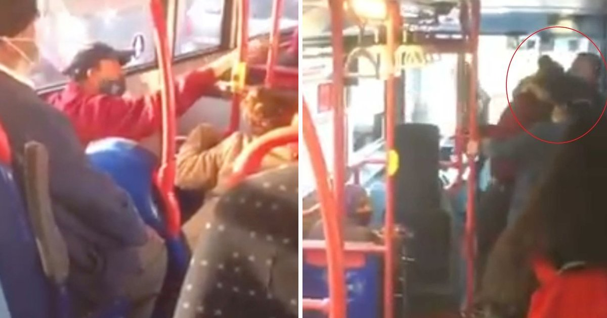 hssdfsdfsdf.jpg?resize=1200,630 - Teen Girl Kicked In Face And Racially Abused By Bus Passenger For Not Wearing Face Mask