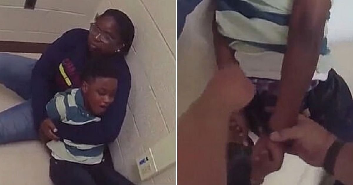 jarome6.jpg?resize=1200,630 - Young Boy With Autism Was Left With Broken Wrist Bone After Being Handcuffed For More Than 20 Minutes
