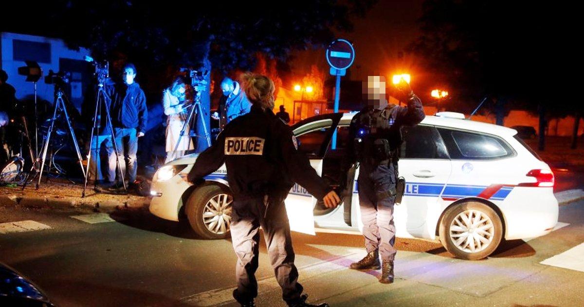 kljlj.jpg?resize=1200,630 - Man Shot Dead By French Police For Slitting Middle School Teacher's Throat In Public