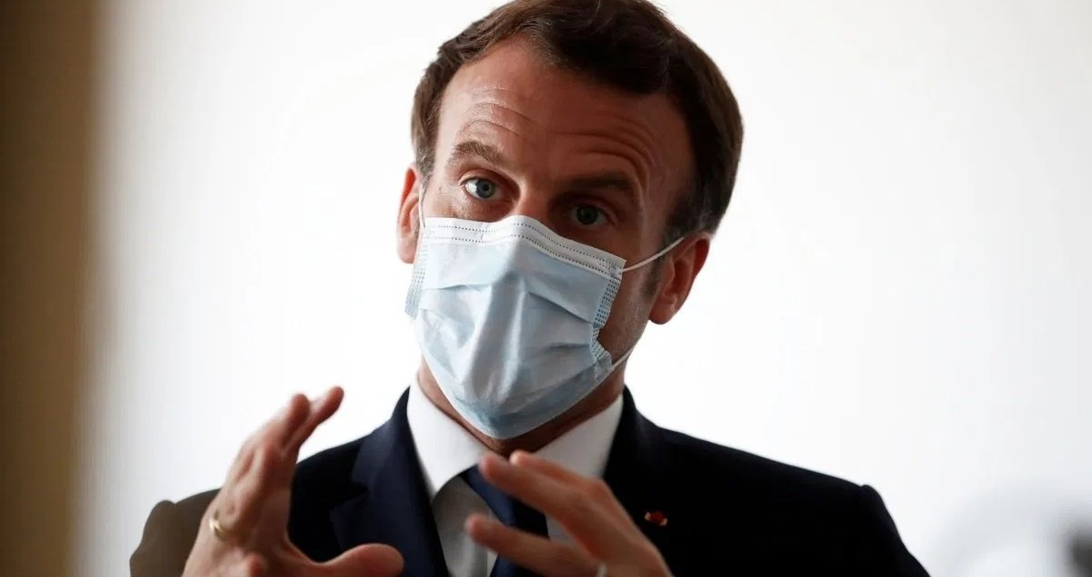 macron 1.jpg?resize=1200,630 - Emmanuel Macron annonce qu'il est trop tôt pour dire si on va vers des reconfinements