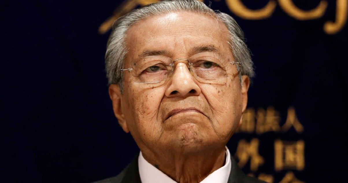 mahathir mohamad.jpg?resize=1200,630 - Sur Twitter, l'ancien Premier ministre malaisien a incité les musulmans à tuer des Français