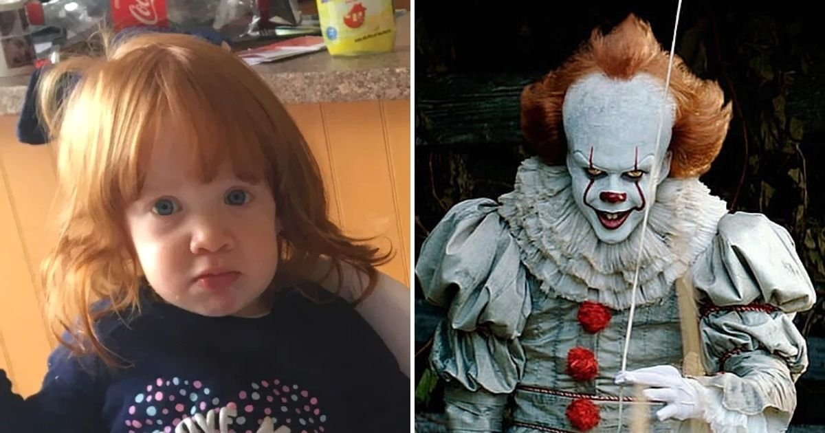 maisie6.jpg?resize=412,232 - Toddler Ended Up Looking Like Pennywise From It After Applying Hair Removal Cream