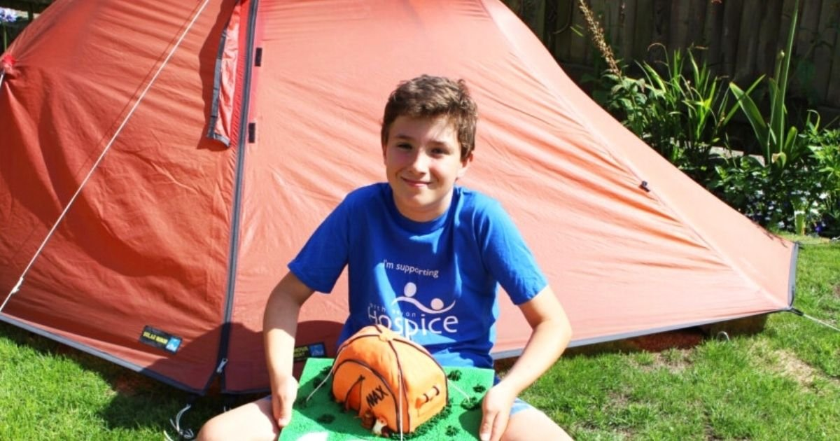 max5.jpg?resize=1200,630 - Young Boy Raises More Than $98,000 By Sleeping In Tent For 200 Days In Memory Of His Friend