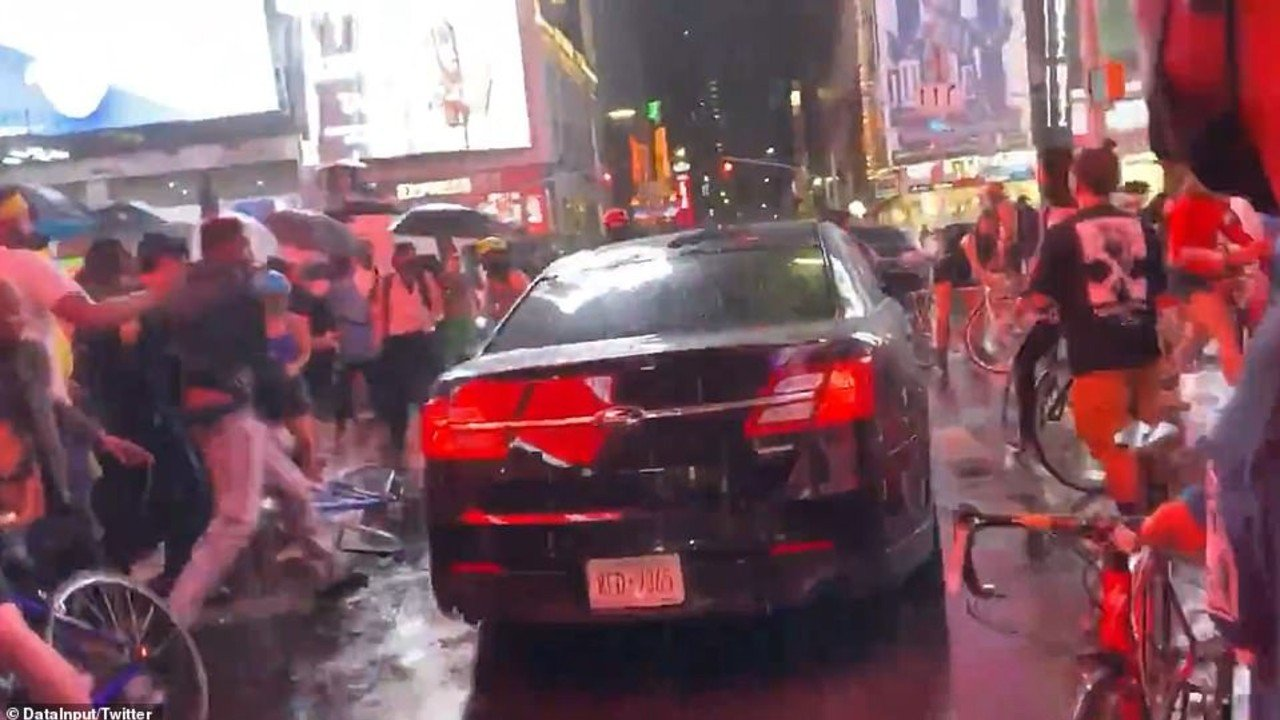 maxresdefault 8.jpg?resize=1200,630 - Car Drives Through Black Lives Matter Protesters In Times Square, New York