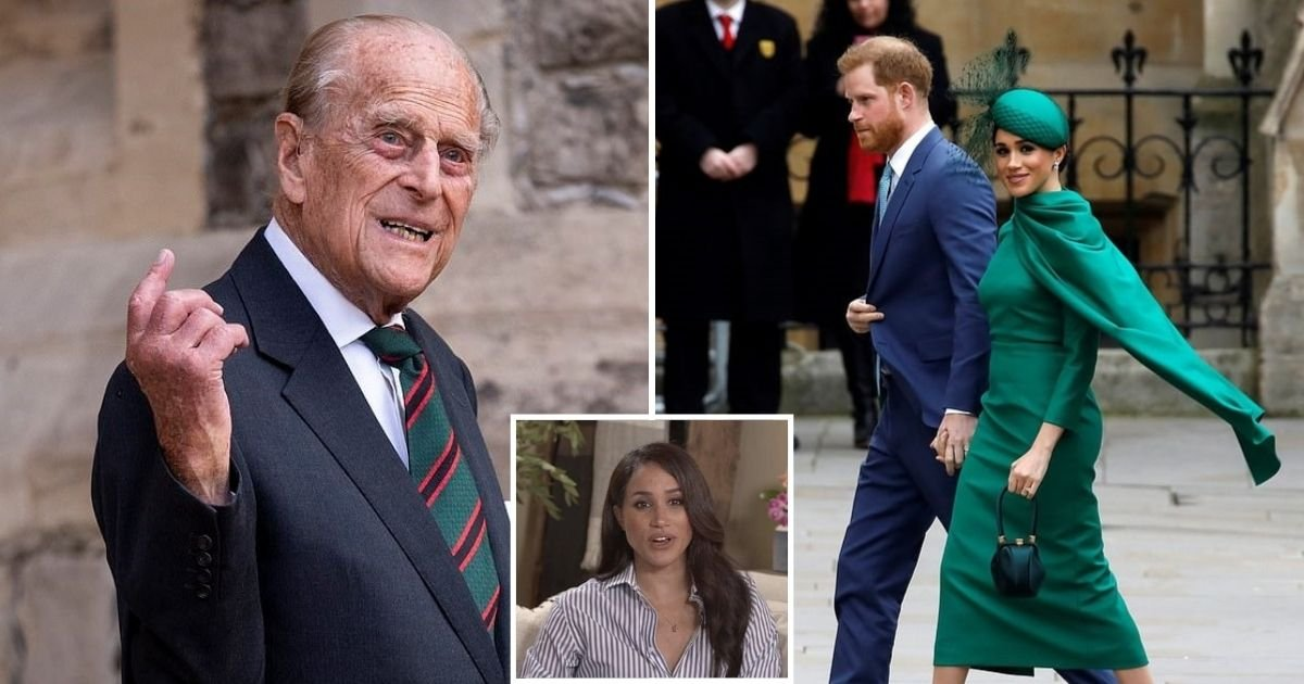 meg4.jpg?resize=1200,630 - Prince Philip Is 'Very, Very Disappointed' With Meghan Markle, Royal Expert Claims