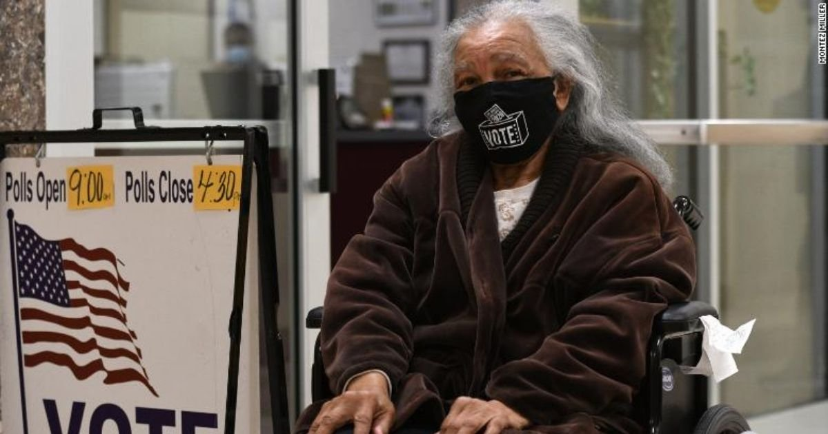 montez miller.jpg?resize=1200,630 - 94-Year-Old Lady Traveled More Than 300 Miles To Vote Early And In Person
