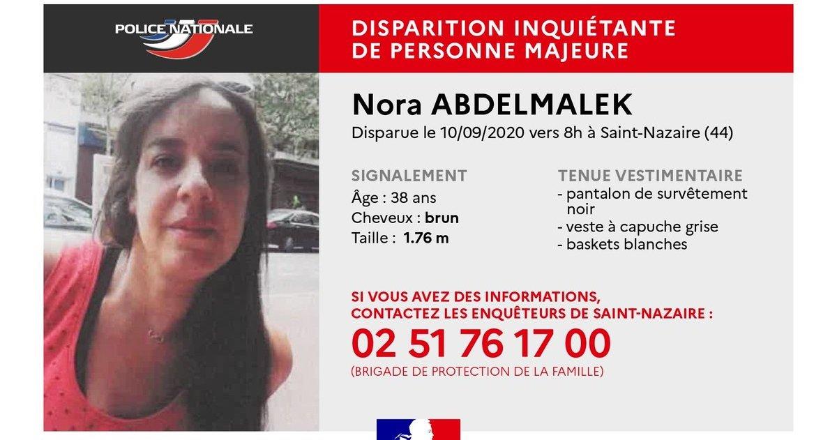 nora.jpg?resize=412,275 - Disparition: Nora, une mère de famille de 38 ans est portée disparue depuis trois semaines