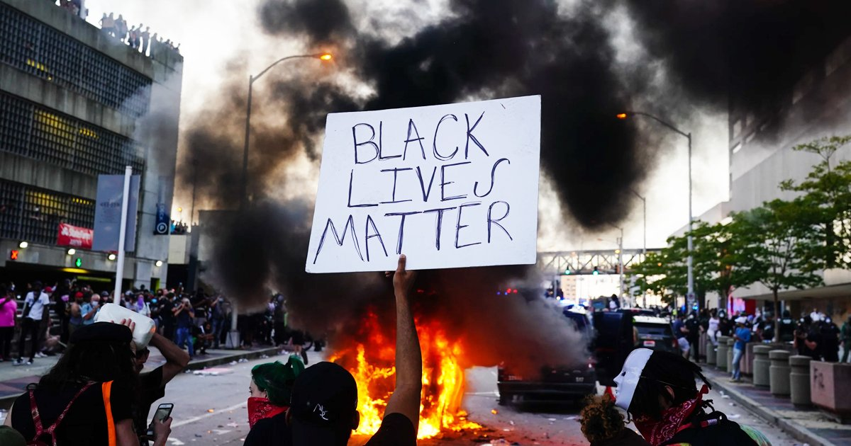 protest.jpg?resize=1200,630 - BLM Protesters Cause 'Tens Of Thousands Of Dollars In Damage' As Violence Grips Los Angeles
