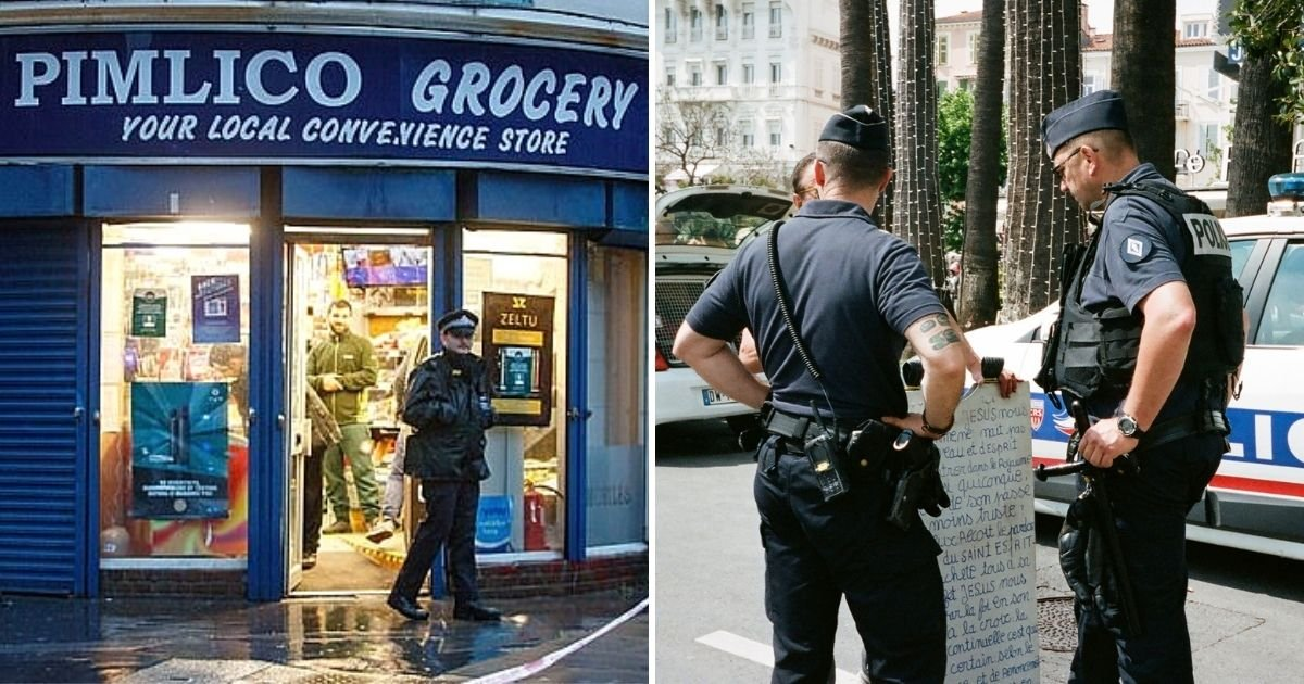robbery5.jpg?resize=1200,630 - Female Police Officer Stabbed In The Stomach During Robbery At A Grocery Store