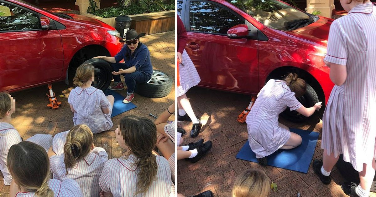 sdfsdfsdfaaa.jpg?resize=1200,630 - Sydney's Girl School Offers Students Lessons On 'Essential Skills' For Car Maintenance