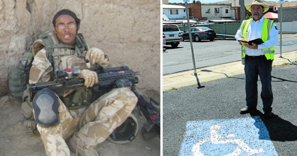 sdfsdfsdfs.jpg?resize=412,232 - Brave War Hero With No Legs Fined £60 For Parking In Disabled Bay
