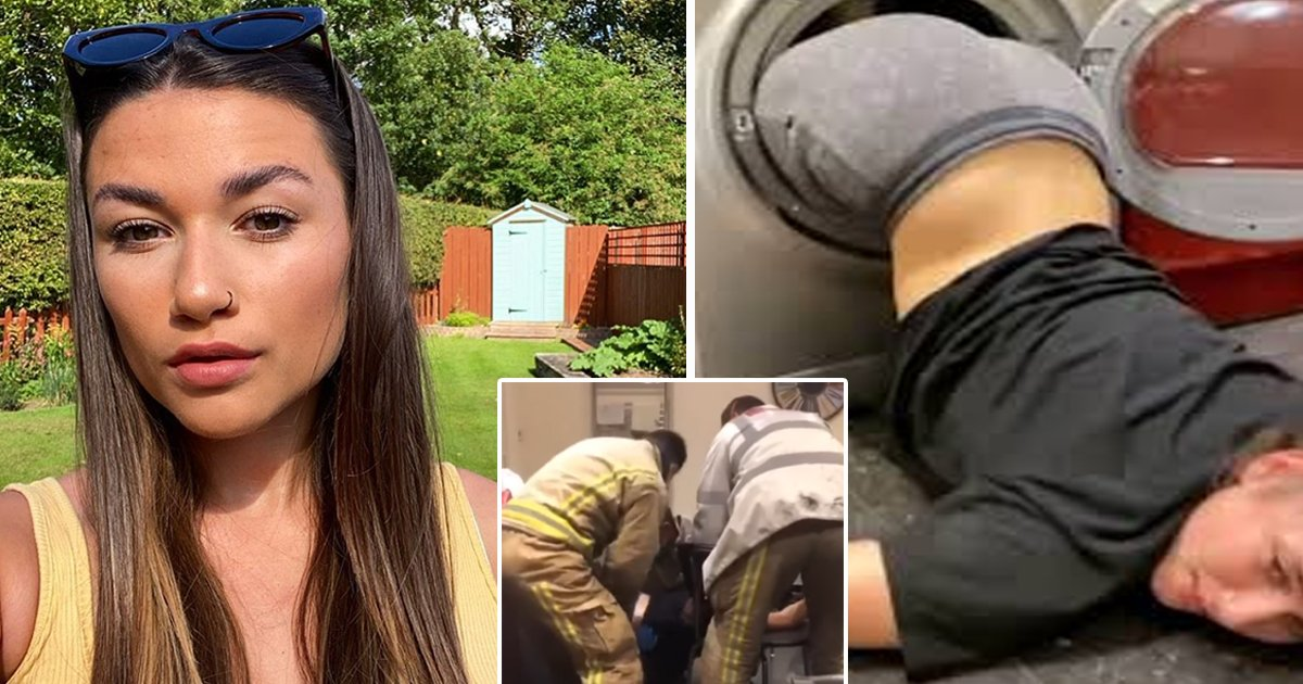 sfadsfadsf.jpg?resize=1200,630 - Dare Goes Horribly Wrong As Firefighters Rescue Drunk Teen Girl Stuck In Dryer
