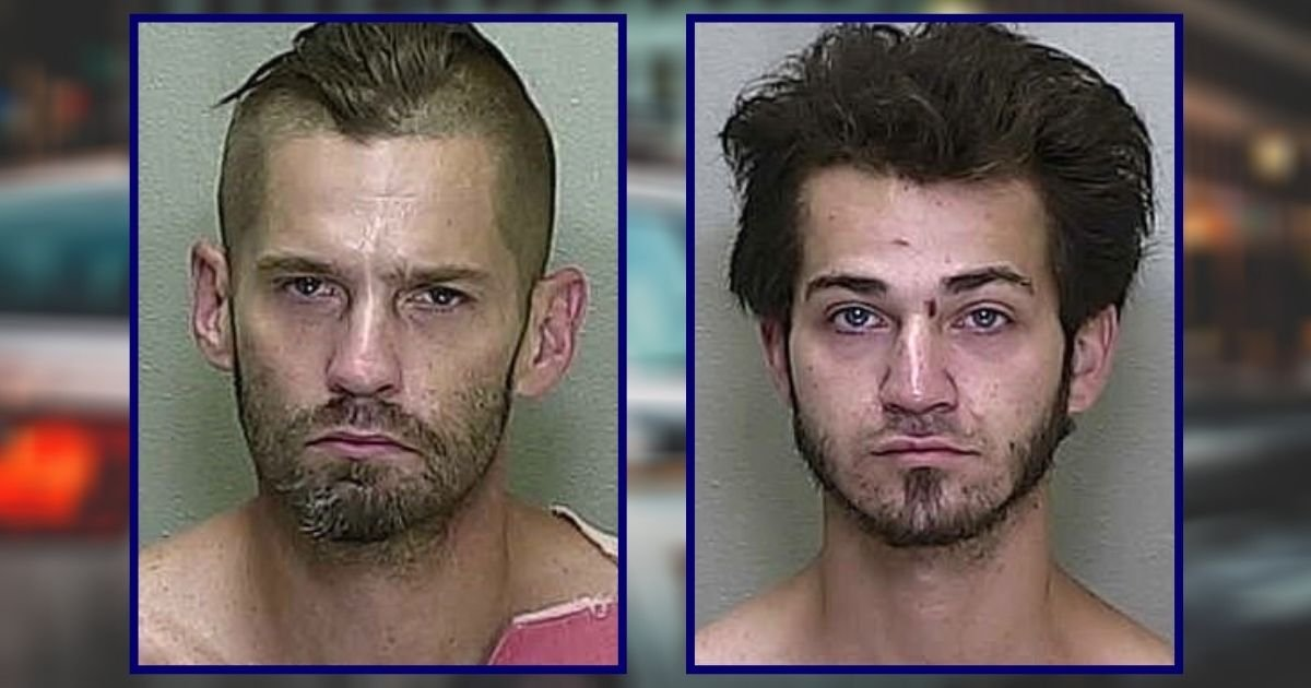 thieves4.jpg?resize=1200,630 - Police Have Arrested Florida's 'Dumbest Criminals' Who Went On A Stealing Spree In Ocala