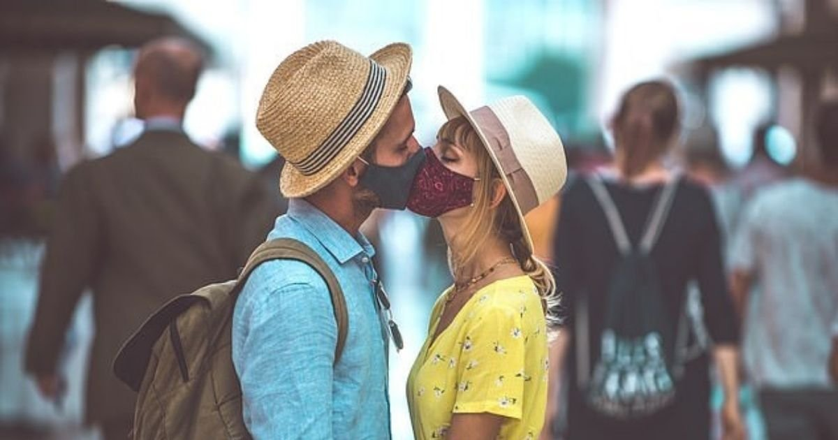 untitled design 3 16.jpg?resize=1200,630 - Engaged Couple Fined Nearly $500 For Kissing