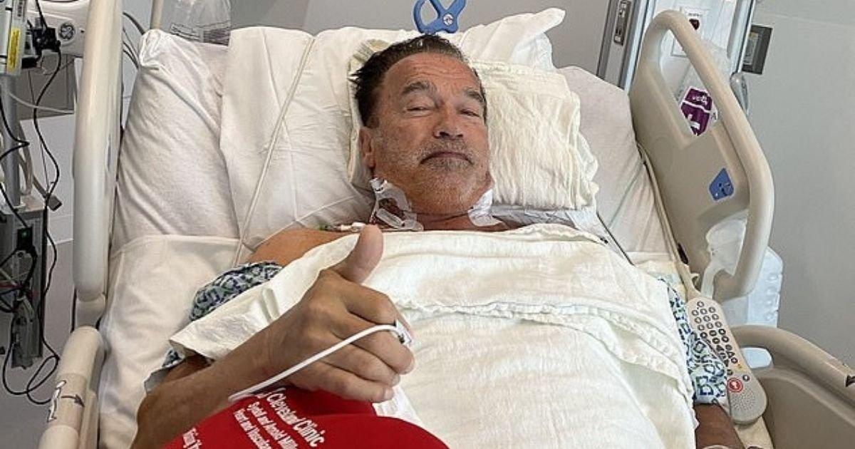 untitled design 31.jpg?resize=412,232 - Arnold Schwarzenegger Undergoes Another Heart Surgery