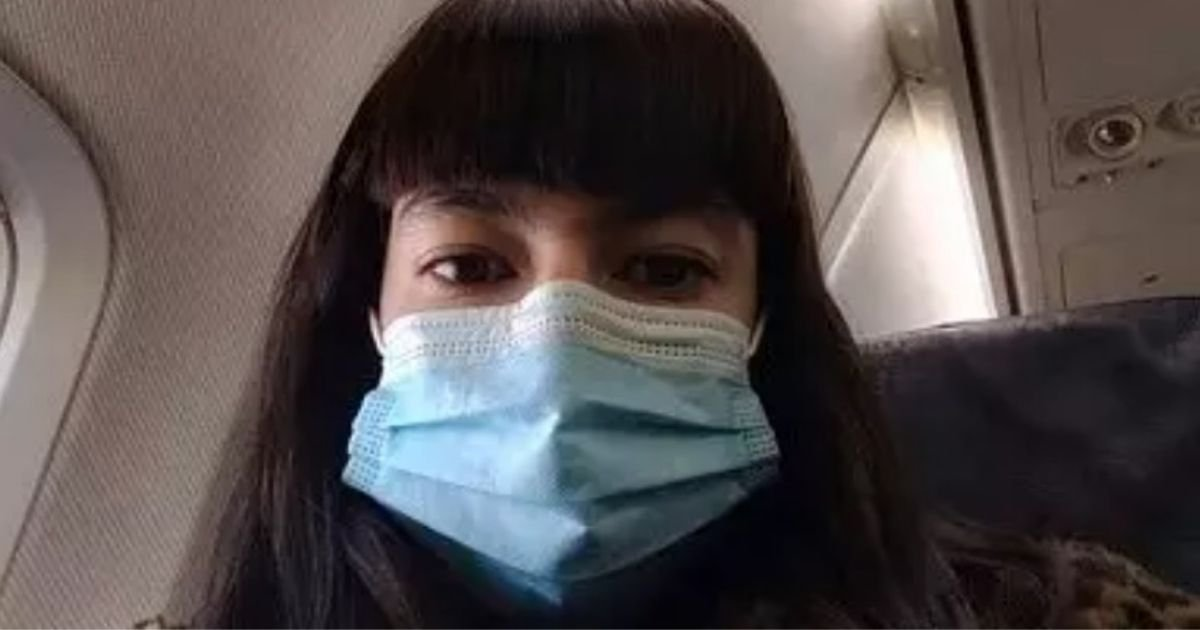 untitled design 5 7.jpg?resize=1200,630 - Woman Told To Wear Disposable Face Mask Already Used By A Stranger