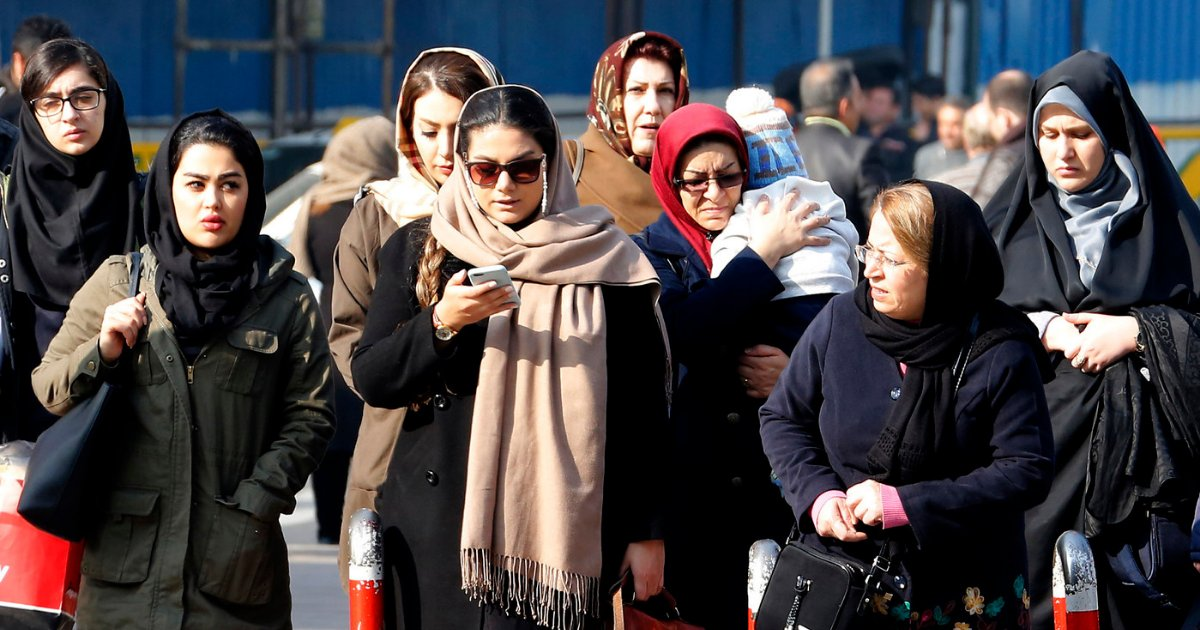 vonjour16.png?resize=1200,630 - Iran : une femme arrêtée parce qu'elle ne portait pas le voile