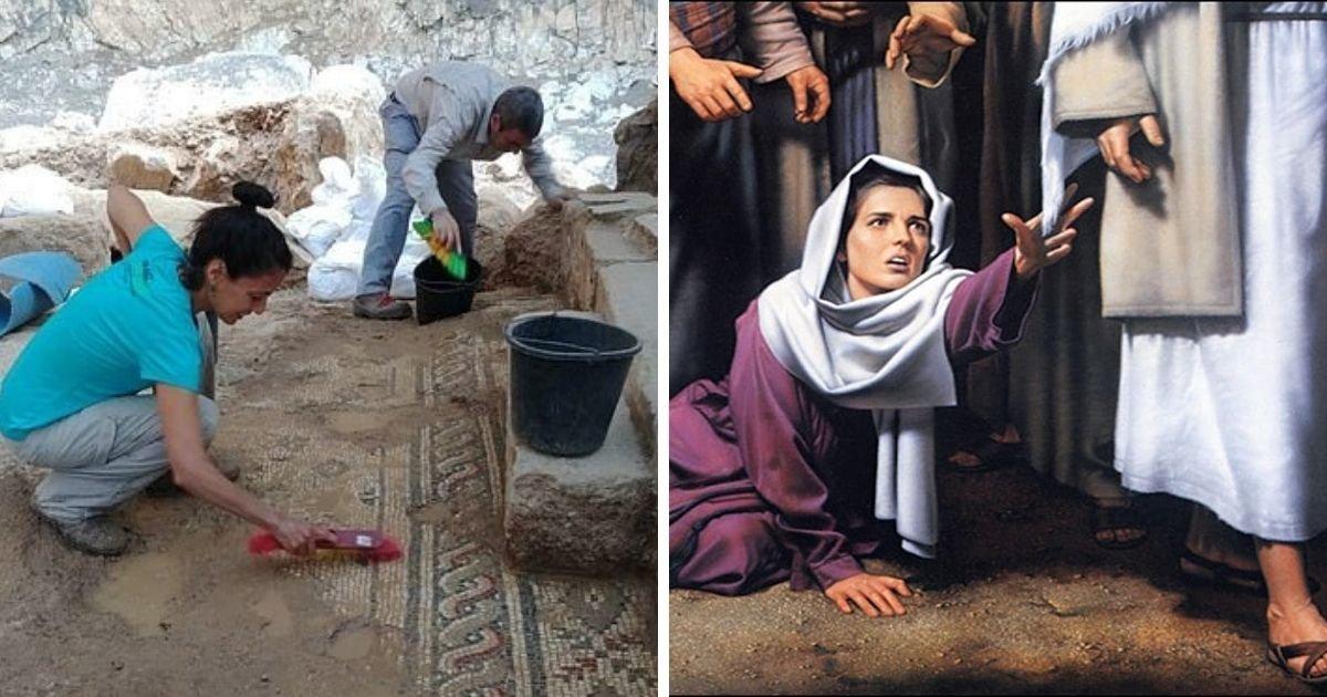 1 102.jpg?resize=1200,630 - Desentierran Los Restos De La Iglesia Perdida Donde 'Jesús Milagrosamente Curó A Una Mujer Sangrante'
