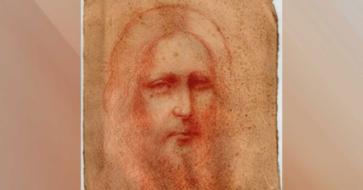 1 133.jpg?resize=412,232 - Newly Discovered Jesus Christ Sketch Believed To Be Da Vinci's Unknown Masterpiece