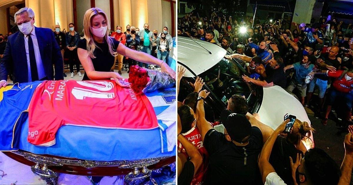 1 188.jpg?resize=412,232 - Trabajador De Funeraria Es Despedido Por Tomarse Una Selfie Con El Cuerpo De Maradona Mientras El País Presentaba Sus Respetos