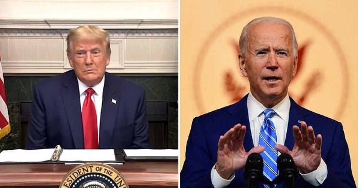 """1 190.jpg?resize=412,232 - Finalmente Trump Dice Que Dejará La Casa Blanca, Pero Admite Que Es Algo """"Muy Difícil De Conceder"""""""