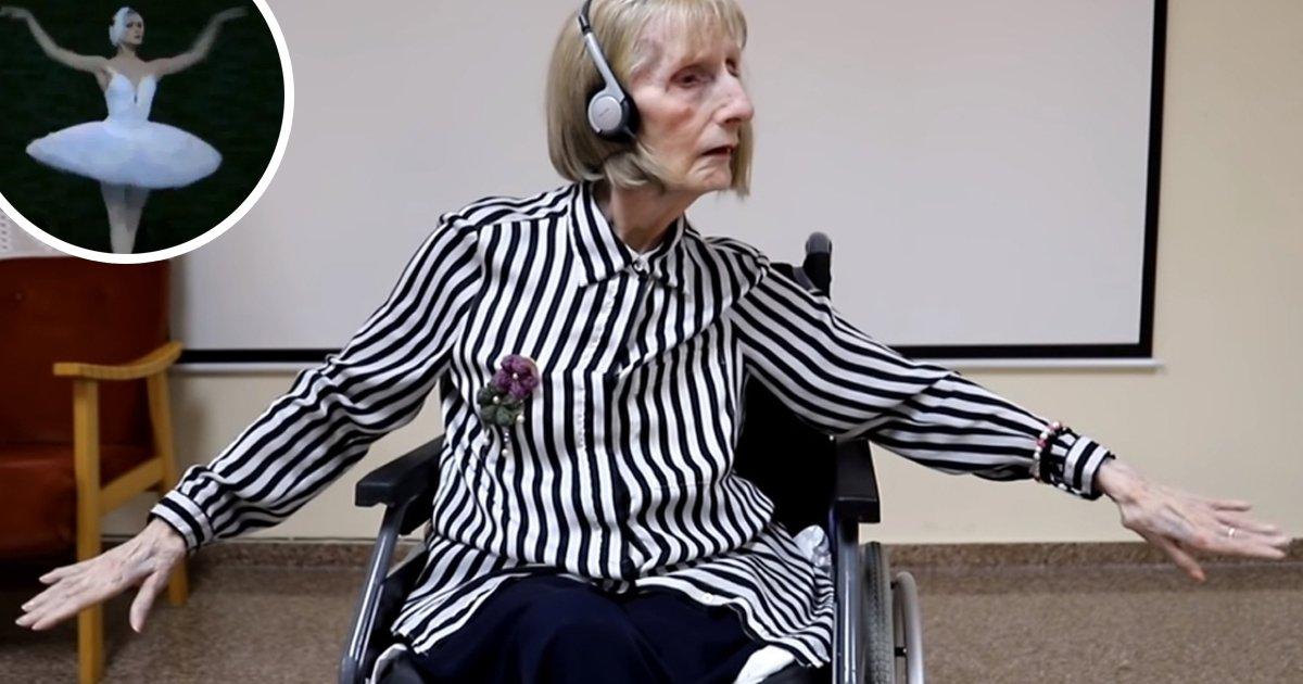 1 90.jpg?resize=1200,630 - Reacción De Ex-Bailarina Con Alzhéimer Al Escuchar 'El Lago De Los Cisnes' Queda Grabada En Un Emotivo Video