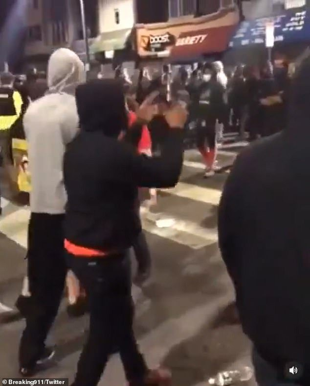 Philadelphia BLM protesters chase Jewish men