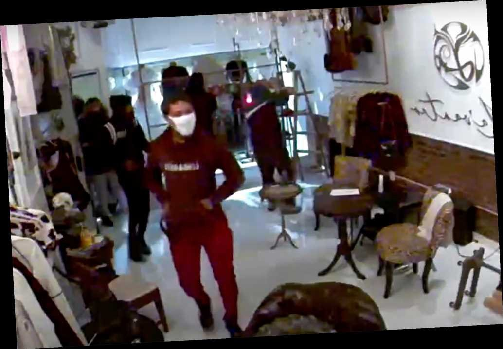 Stunning video shows looters ransack Philadelphia boutique in minutes -  WSTale.com