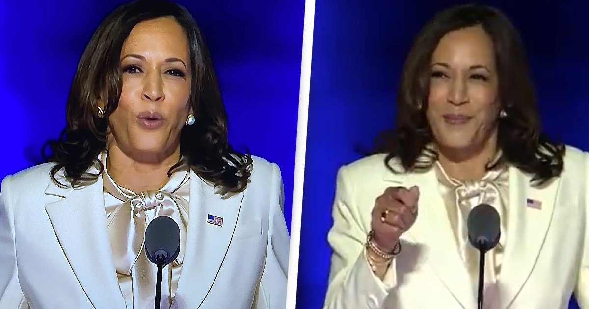 Kamala Harris Gives Powerful Speech After Historic Win As US Vice President