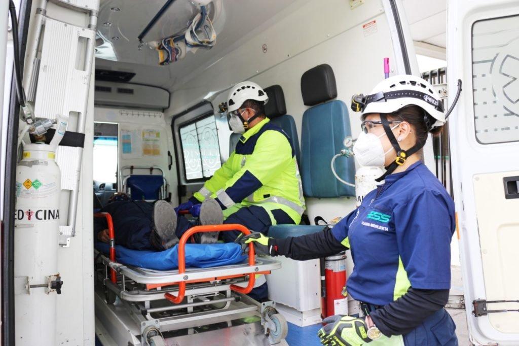 La labor del paramédico en su día a día | Diario El Mercurio