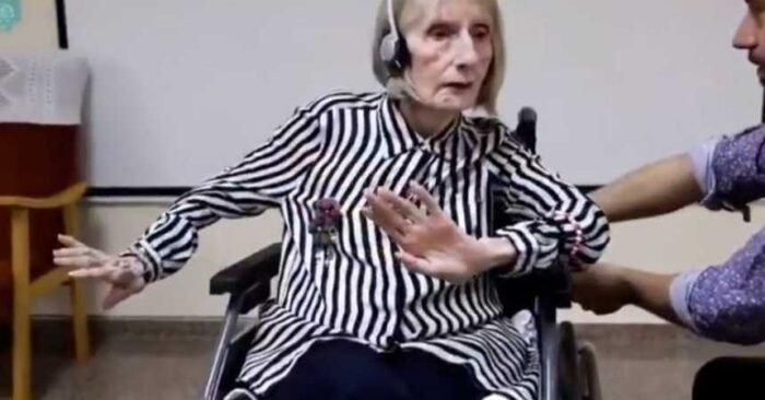 La emocionante reacción de una estrella del ballet con Alzheimer al oír