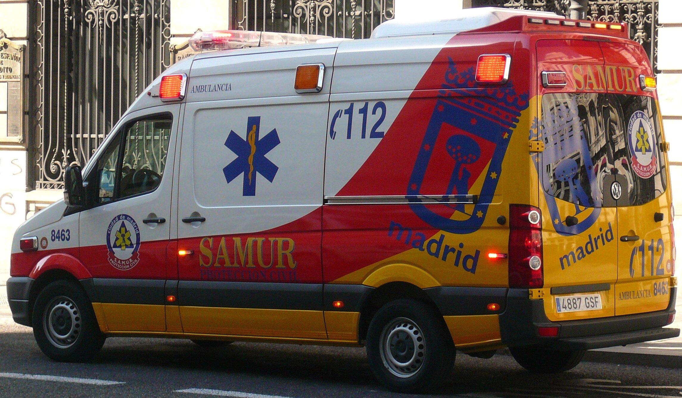 Técnico en Emergencias Sanitarias, atención primaria y traslado