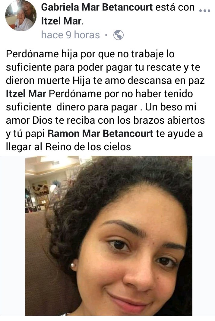 Blog Expediente MX | perdoname-hija-por-no-poder-pagar-tu-rescate | Portal de Noticias de Veracruz | Periodico de Veracruz