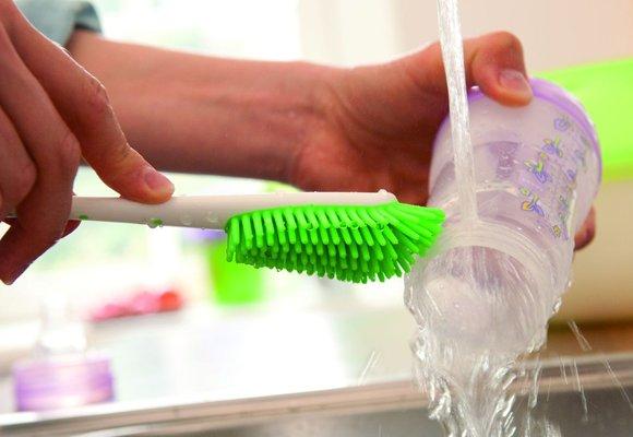Higiene: lavado y esterilización de mamaderas y chupetes