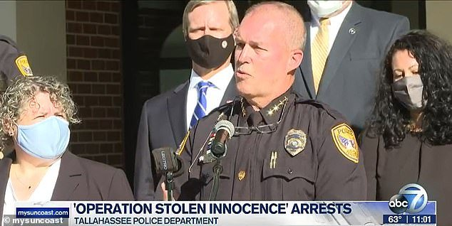 The Tallahassee Police Department announced Tuesday a total of 178 arrests in a two-year investigation known as Operation Stolen Innocence that centered on the abuse of one teenage girl who was just 13 and 14 when most of the offenses occurred