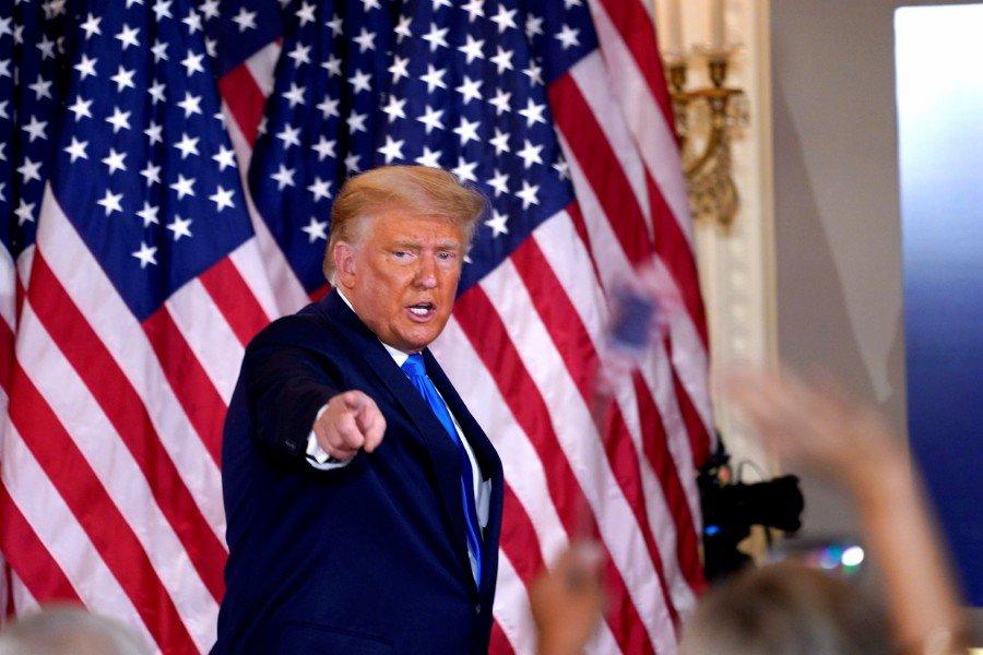US election defeat