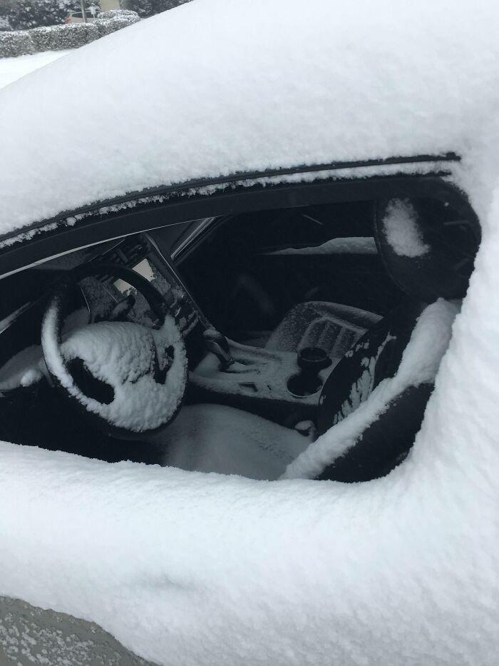 Guy's Neighbors Left Their Car Windows Open Overnight