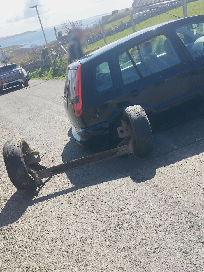 My Wheels Fell Off While Driving